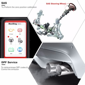 Image 4 - Autel Escáner MaxiDiag MD808 Pro, lector de aceite y reinicio de batería OBD2, todos los sistemas, reaprendizaje de pastilla de freno, estacionamiento, SAS, SRS, ABS, EPB