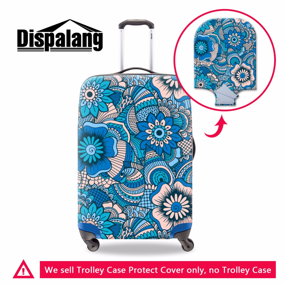 Dispalang Travel Luggage Bag Cover Floral Stretch Suitcase ...