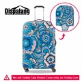 Dispalang Travel Luggage Bag Cover Floral Stretch Suitcase Protectors for 18-30 Inch Flower Waterproof Zippered Luggage Cover