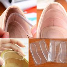 6pcs=3pair Silicone Insoles for Shoes Anti Slip Gel Pads Heels Protector Painful Relief Cushion Insert