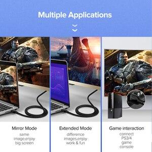Image 3 - Ugreen Cable HDMI 4K 2,0 para Apple TV PS4, conmutador divisor, Cable HDMI a HDMI, Cable de Audio de vídeo de 60Hz, Cable de Cabo HDMI 4K