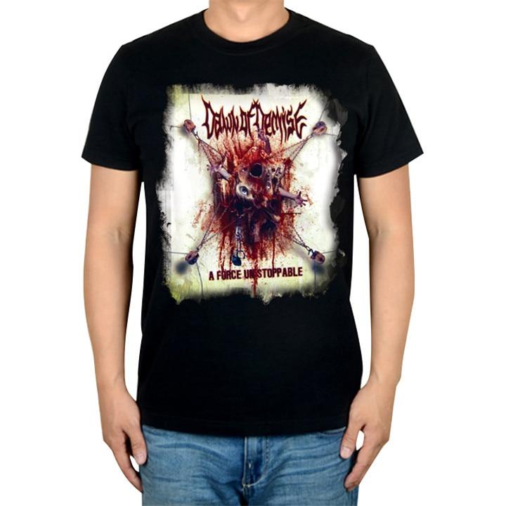 2 дизайна Dismal Lapse Эон осколочный рок Бренд трэш футболка хлопок панк фитнес тяжелый рок металлические черные рубашки camiseta - Цвет: 1