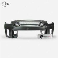 For Nissan GTR R35 CBA DBA LBV2 Style FRP Glass Fiber Front Bumper Body Kit Tuning Part For R35 GTR Fiberglass Bumper цена в Москве и Питере