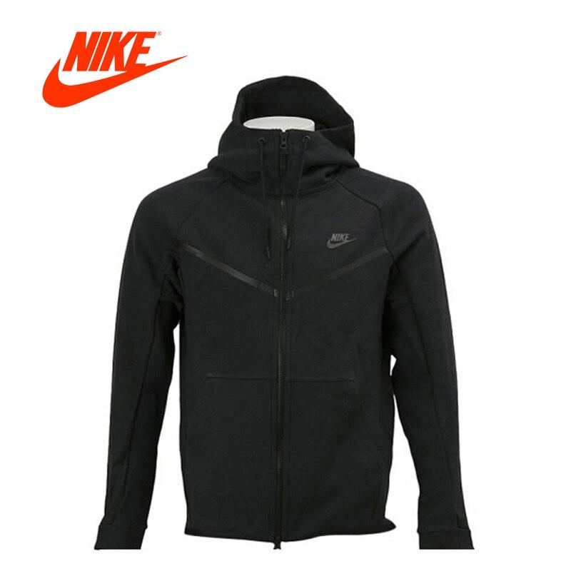 Original New Arrival Authentic Nike TCH FLC Men s Breathable Hooded Jacket  Jerseys Leisure Sportswear 805145- 4d5cbaa87