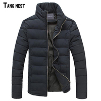 TANGNEST Men S Thick Coat 2016 New Fashion Men Winter Warm Thicken Jacket Male Casual Slim