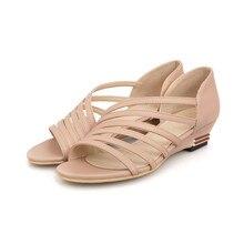 2016 Women Sexy Sandals Shoes Low Heels Flip-flops Ladies Summer Shoes Women high Heels Sandals Roman Shoes Ankle Strap Sandals