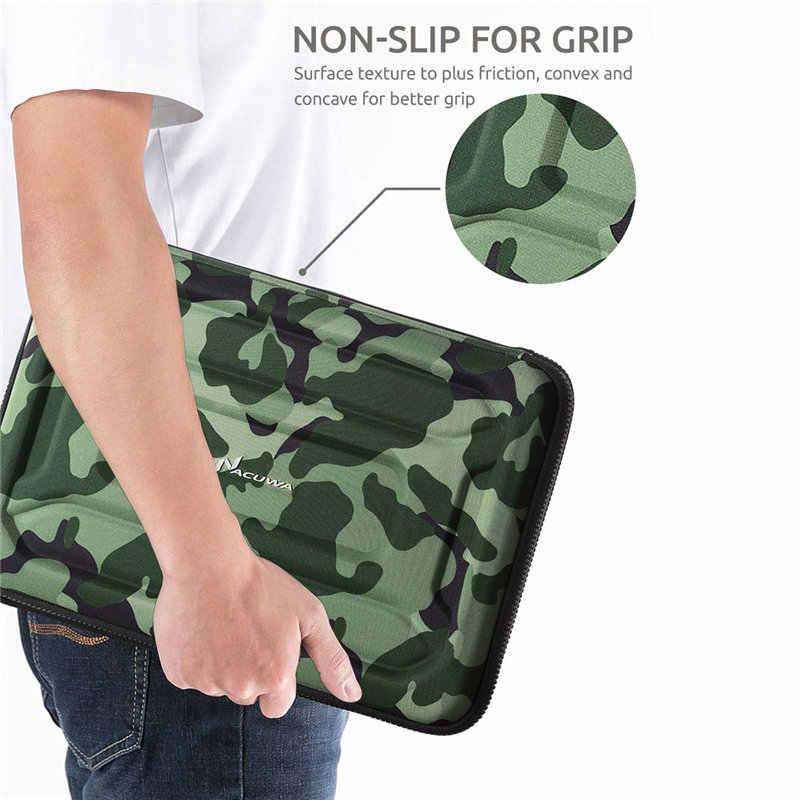 Nacuwa 360 Graden Shockproof Waterdicht Protective Laptop Sleeve Bag Case Voor 13 - 13.3 Inch, 15 Inch Computer Tas
