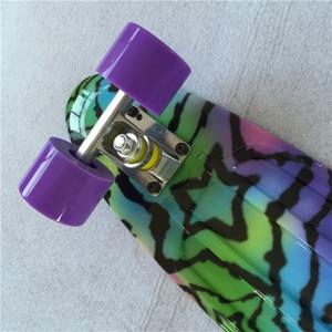 Image 5 - Typ Hip Hop Retro Mini Cruiser Skateboard Batman Muster Mini Bord Skateboard für Outdoor Sport Straße Jungen Für Kind