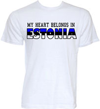 ESTONIA ESTONIAN FLAG SLOGAN T-SHIRTS JOKE GIFTS T SHIRT O Neck Tee Shirt Short Sleeve Top  Free shipping newest Fashion