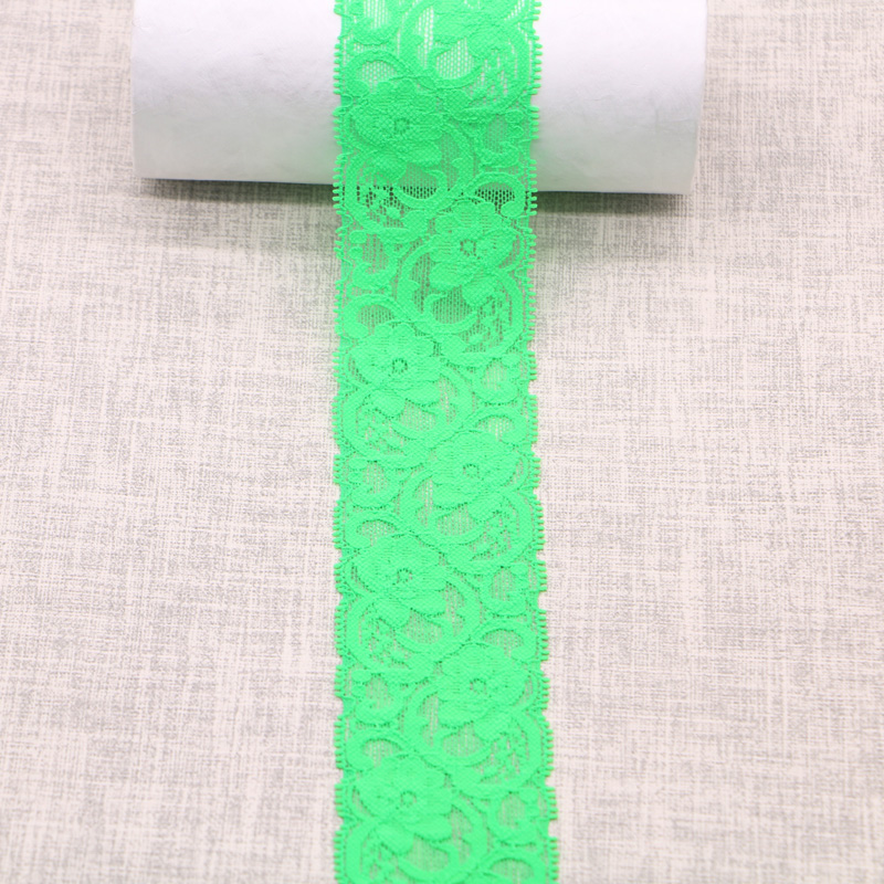 High quality Beautiful Lace Stretch Floral Lingerie Headband Elastic DIY Lace 10 colors in Lace from Home Garden