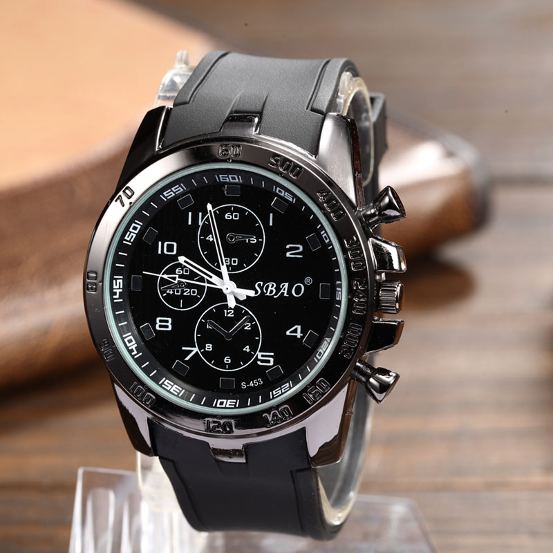 in item silicone watches large business fashion quartz student relogio necessary new watch sport big korean from men neutral dial wristwatch mens