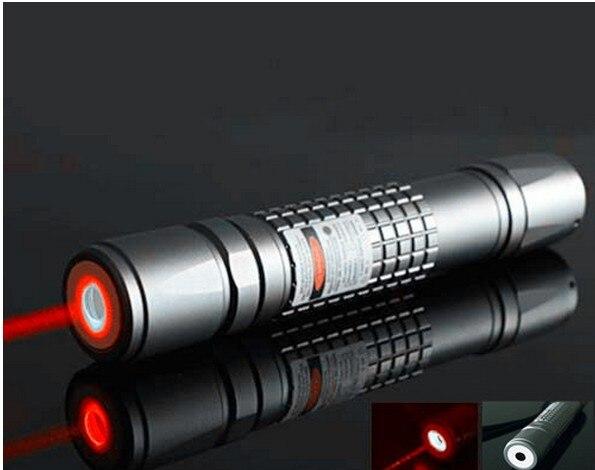 High Power 10000 m 650nm Waterdichte TRUE Hoge Aangedreven Focusseerbaar Rode Laser Pointer Brandende Fakkel Licht Wedstrijden GRATIS VERZENDING