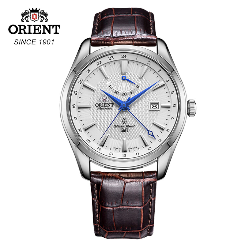 ORIENT mechanical watch  white dial automatic business watch made in japan watch fashion waterproof watchORIENT mechanical watch  white dial automatic business watch made in japan watch fashion waterproof watch