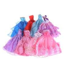 8 Colors Pick Elegant Lady Fashion Wedding Dress Party Gown Princess Cute Outfit  Clothes For Barbie 2c7d81da2dee