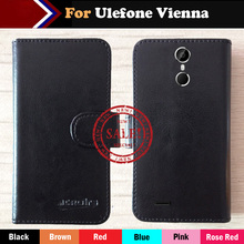 6 Colors Hot!! In Stock Ulefone Vienna Case Ultra-thin Leather Exclusive For Phone Cover+Tracking