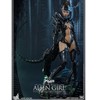 30CM Hot Angel Series Alien vs. Predator Alien Girl Full Length Portrait Statue Action Figure Model Decoration X115