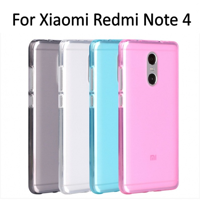 online store 26532 771ae US $1.49 25% OFF|LEPHEE Xiaomi Redmi Note 4 Pro Case Redmi Note 4X Case  Matte TPU Silicone Soft Back Cover Xiomi Redmi 4X Note 4 Pro Prime Case-in  ...