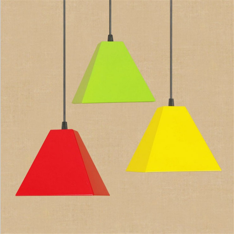 American Loft Style Iron Droplight Modern LED Pendant Light Fixtures Industrial Vintage Hanging Lamp Home Indoor Lighting