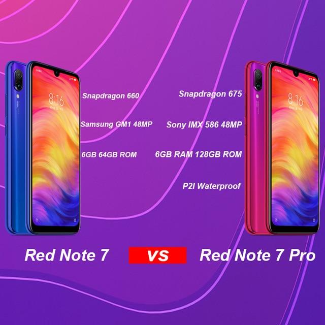 Original Xiaomi Redmi Note 7 Pro 6GB 128GB 48MP IMX 586 Camera Snapdragon 675 Octa Core 6.3'' FHD Screen Mobile Phone 4000mAh 2