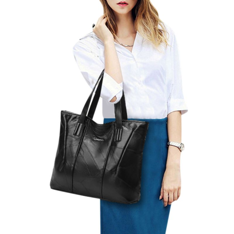 Women Leather Messenger Lady Hobo Handbag Shoulder Bag Tote Purse Satchel Bags