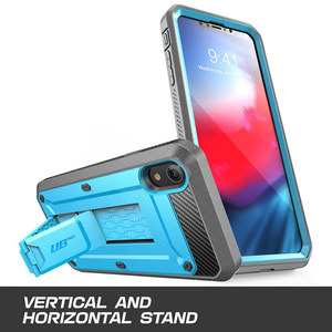 Image 3 - SUPCASE For iPhone XR Case 6.1 inch UB Pro Full Body Rugged Holster Phone Case Cover with Built in Screen Protector & Kickstand