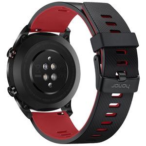 Image 2 - Huawei Honor Watch Magic SmartWatch GPS 5ATM WaterProof Heart Rate Tracker Sleep Tracker Working 7 Days Message Reminder