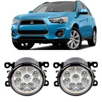 Car Styling For Mitsubishi ASX 2013 2014 9 Pieces Led Fog Lights H11 H8 12V 55W