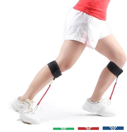 Pierna pierna Pierna pantorrilla fuerza 16-32 libras resistencia Bandas Tensile football Taekwondo sprint dash basketball Salto entrenamiento