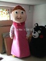 mascot girl bear Mascot Costume custom fancy costume anime cosplay kit mascotte theme fancy dress