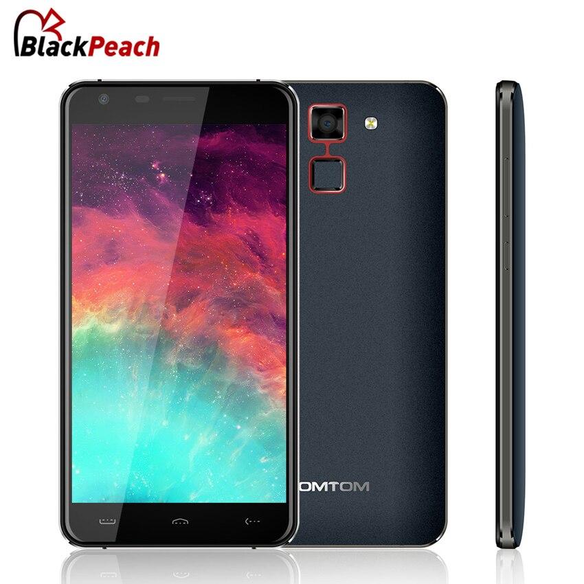 Цена за Homtom ht30 мобильный телефон 5.5 дюймов hd ips mtk6580 quad core Android 6.0 1 ГБ RAM 8 ГБ ROM 8MP 3000 мАч Отпечатков Пальцев ID 3 Г смартфон