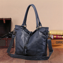 AOMI  Genuine leather  designer handbags famous brand  bags fashion shoulder bag