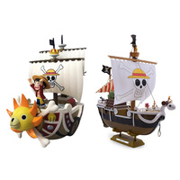 2 Style Anime One Piece THOUSAND SUNNY Going Merry Pirate Ship PVC Action Figure Doll Collectible Model DIY Toy Christmas Gift
