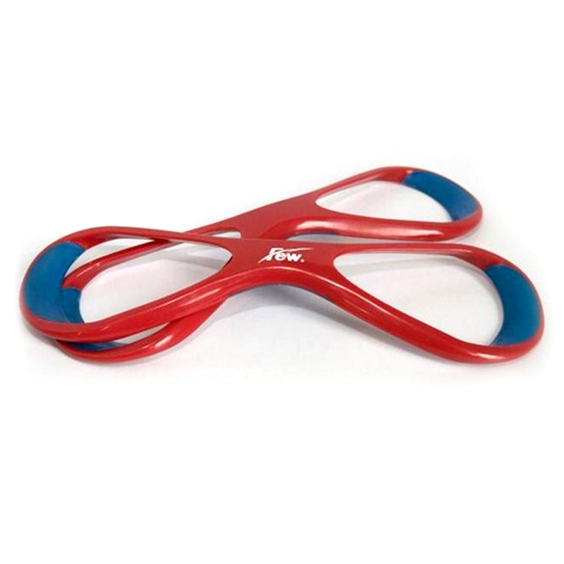E1082 Red Polypropylene Forearm Fulcrum fin Corrective freestyle arm 8 word teaching high elbow swim webbed