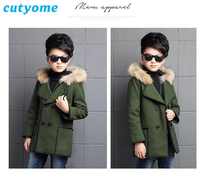 fashion wool coats for kids02