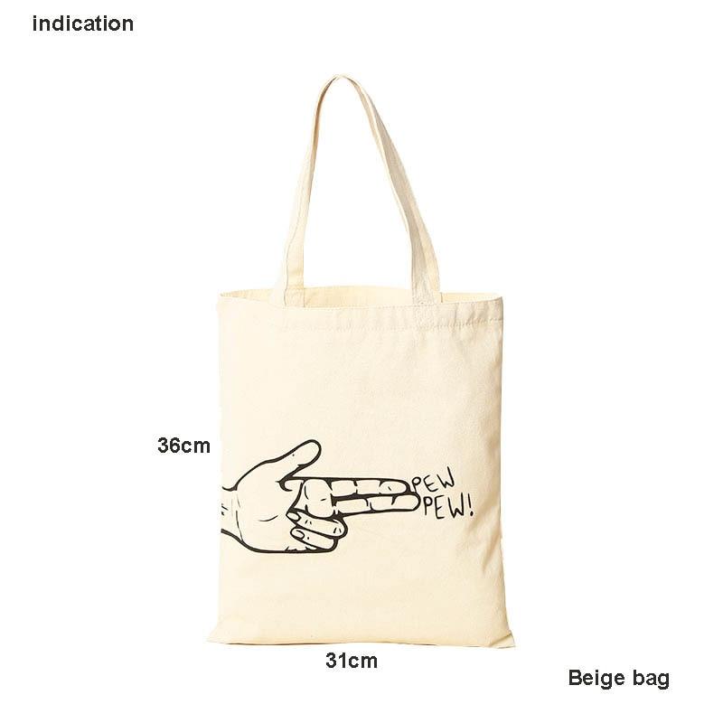 100Pcs/Lot Beige Size 36Cm*31Cm Customized Logo Silkscreen Print Company Tote Bag Green Cotton Canvas Shopping Bag