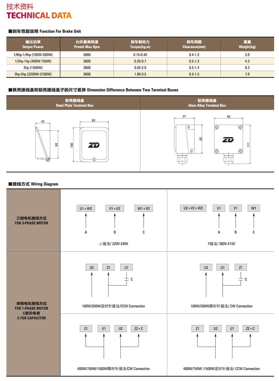HTB1PkMuHXXXXXXIXpXXq6xXFXXXK - 200W motor with brake voltage 220 volts 1 phase shaft diameter 22mm output speed 90-100 turns reducer for the machine tool