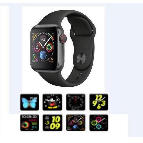<font><b>IWO</b></font> 8 Smart Watch <font><b>1</b></font>:<font><b>1</b></font> 44mm Series 4 Heart Rate Monitor Bluetooth Watch For IOS iphone Android smart phone image