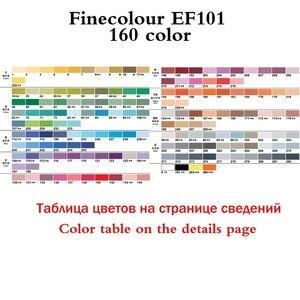 Image 5 - Finecolour プロフェッショナル常設アートマーカーペンアルコールベース Lnk マンガマーカー描画するための 24/36/48/60 /72 絵画マーカーセット