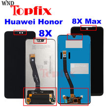Huawei onur 8X için Lcd ekran dokunmatik ekran meclisi onur 8X MAX LCD Honor8X 8Xmax ekran yedek parçalar