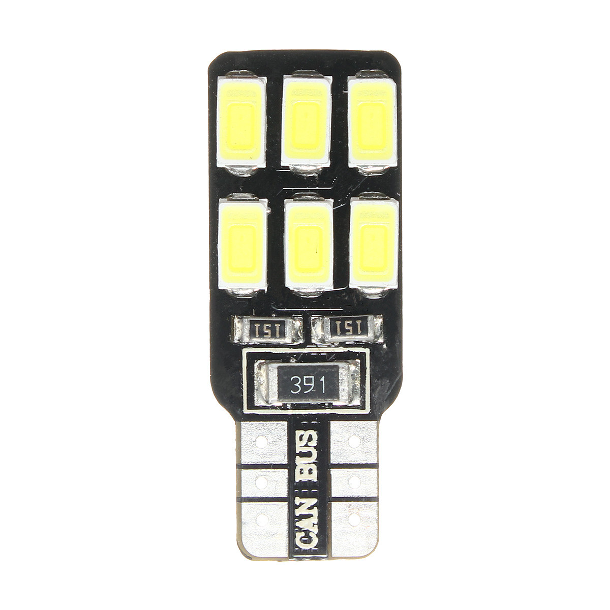 2 x T10 194 5730 LED 12SMD Canbus Error Free Side Marker License Plate Light Bulb