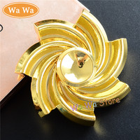 Whirlwind 4 Colour Hand Finger Toys Fidget Spinner Hand Spinner For Autism And ADHD Anti Anxiety