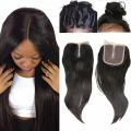 Angelbella Brazilian Hair Closure Straight Medium Brown Middle Part Swiss Lace Closure 4x4 Human Hair Lace Closures for Sale