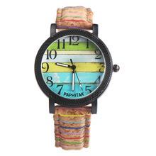 Студенты унисекс разноцветные циферблат арабские цифры Кварцевые наручные часы пара подарок браслет
