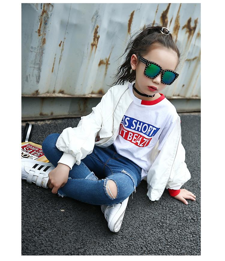 HTB1PkNmaF9gSKJjSspbq6zeNXXaX - Weixu Children Spring Autumn Coat for Girls Fashion Kids White Bat Sleeves Oversize Biker Jacket Girls School Wear Bomber Jacket
