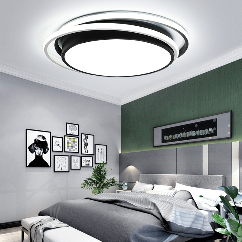 Creative Bedroom Led Ceiling Lights Modern Simple Round Ultra Thin Master Bedroom Ceiling Study Acrylic Ceiling Lamps Buy At The Price Of 198 55 In Aliexpress Com Imall Com