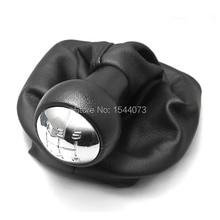 Para 2001-2008 para PEUGEOT 307 5 Speed Gear Shift Knob Gaitor Boot