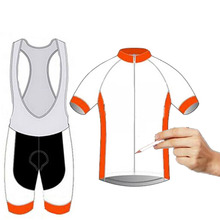 Custom 2017 cycling jersey / professional breathable short-sleeved bicycle clothing / Ropa Ciclismo Custom Bike Clothing