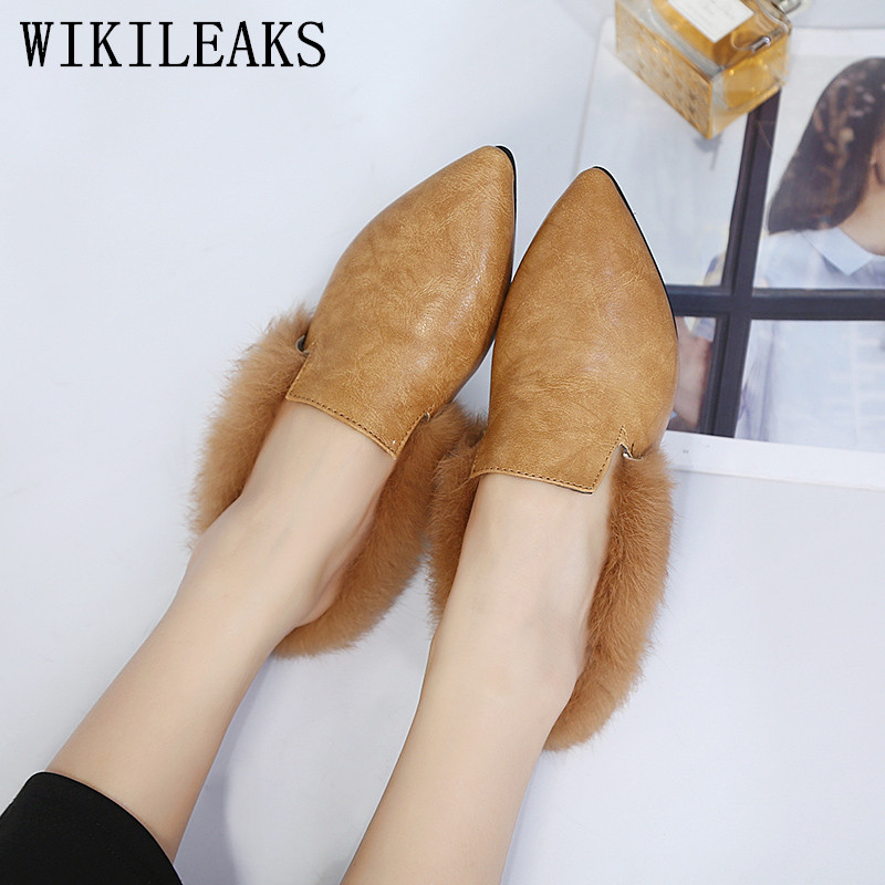 designer ladies shoes woman slip on loafers women flats fur mules luxury brand casual shoes slides zapatos mujer sapato feminino genuine leather women flats shoes new 2015 slip on woman fashion leather loafers brand designer bow sapato feminino flat shoes