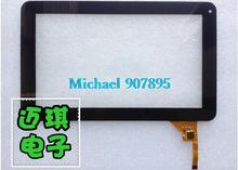 MF-198-090f-2   cable-cable X10 Chi A13  Q9 tablet pc capacitive touch screen panel  glass digitizer noting size and color