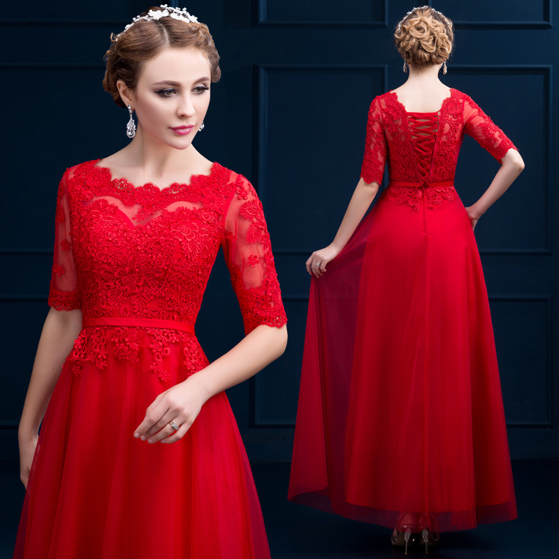 Popular Red Long Dress Cheap-Buy Cheap Red Long Dress Cheap lots ...